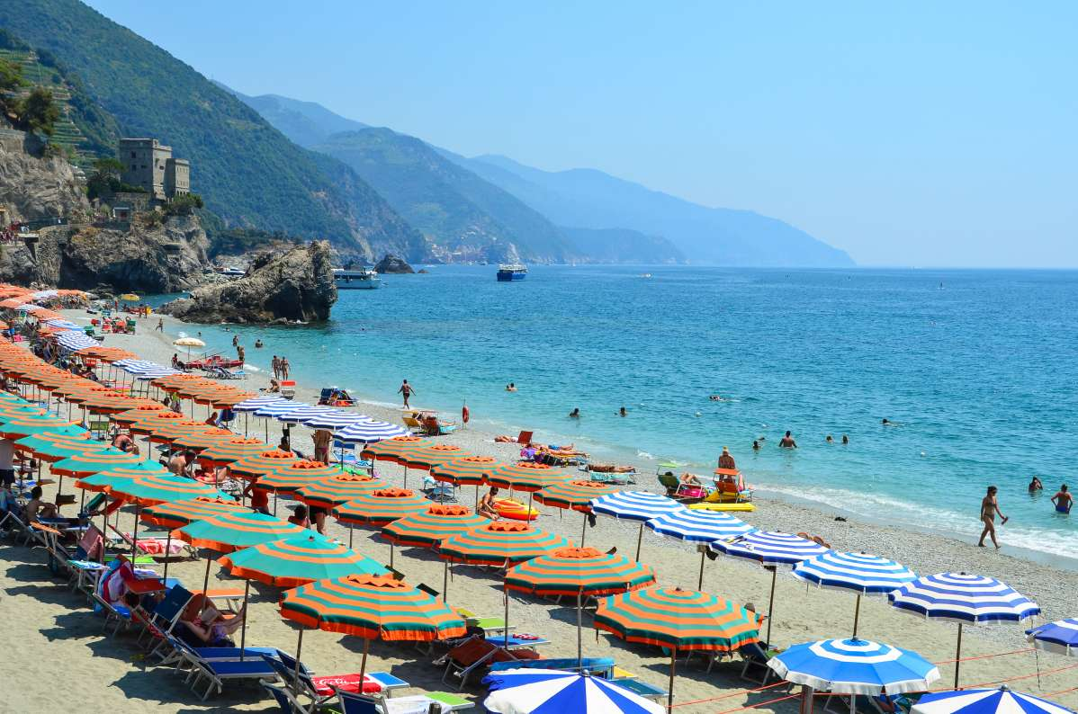 Stunning views of the Cinque Terre on a summer high school program in Italy.