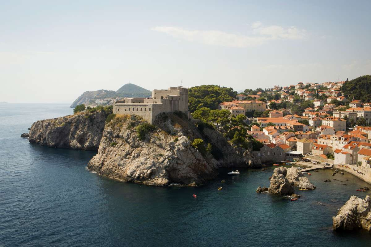 Dubrovnik seen on teen summer travel program