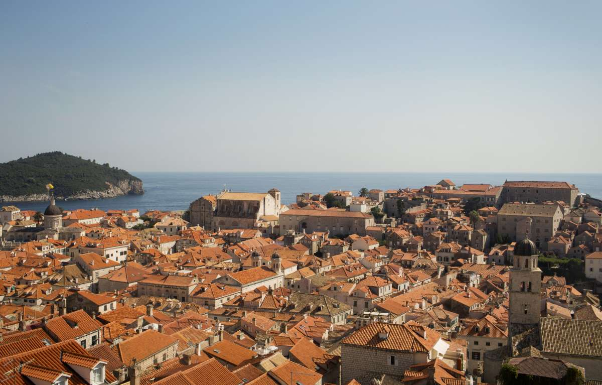 Dubrovnik Old Town seen on teen summer travel program