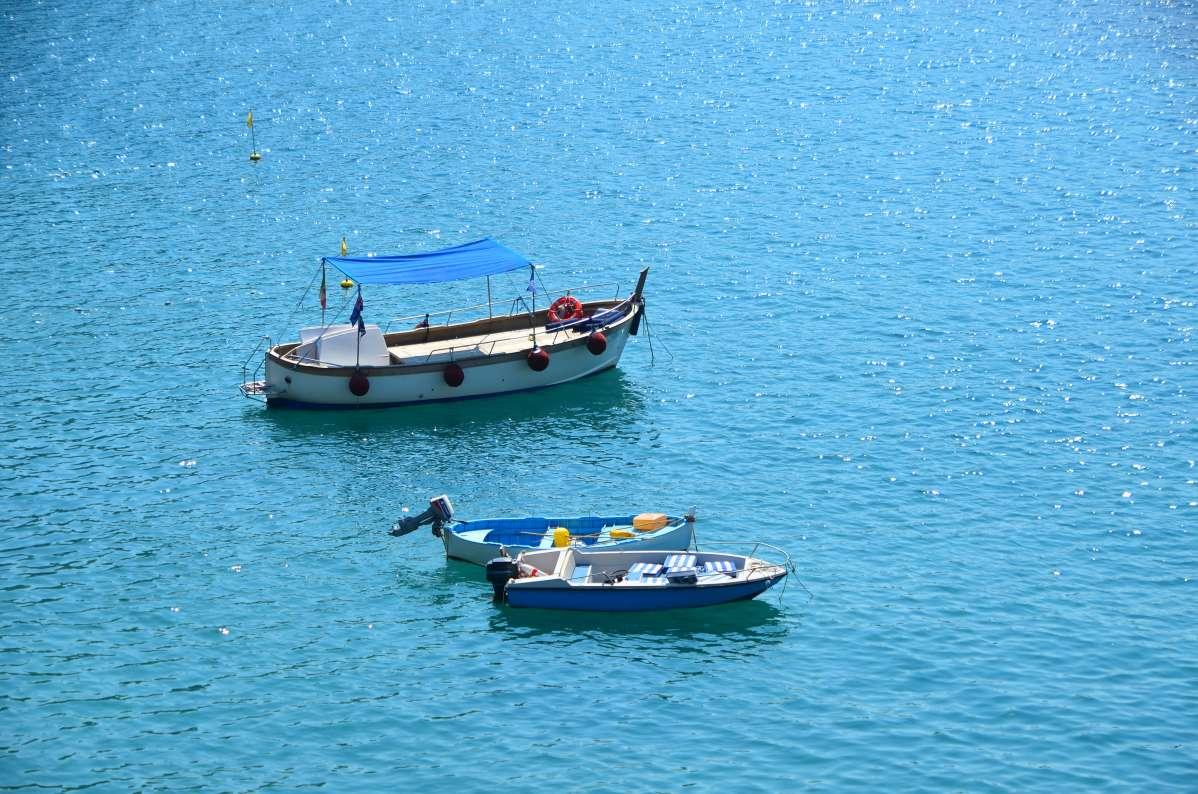 View of Mediterranean at Cinque Terre seen on summer teen travel program