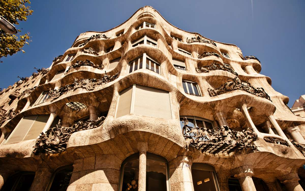 Gaudi Architecture visited by teens on Barcelona summer travel program
