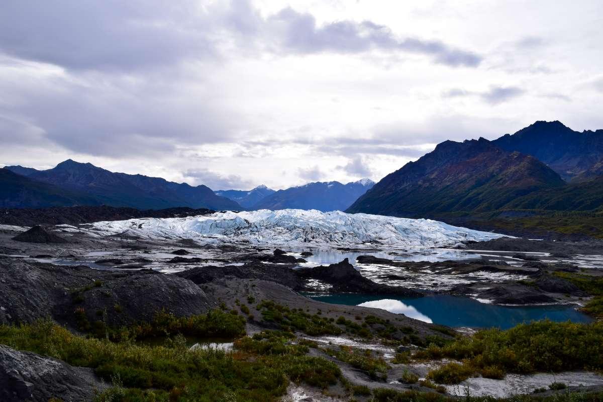 Alaska glacier teens see on trips during summer travel programs