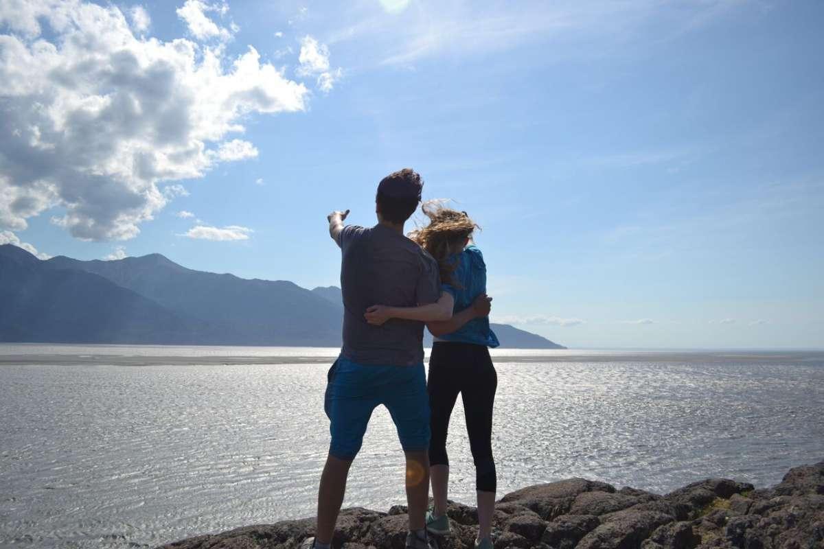 Wilderness views in Alaska on summer teen travel program