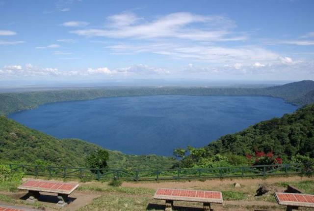 Students enjoy views over a lake in Costa Rica on their older teen summer program.