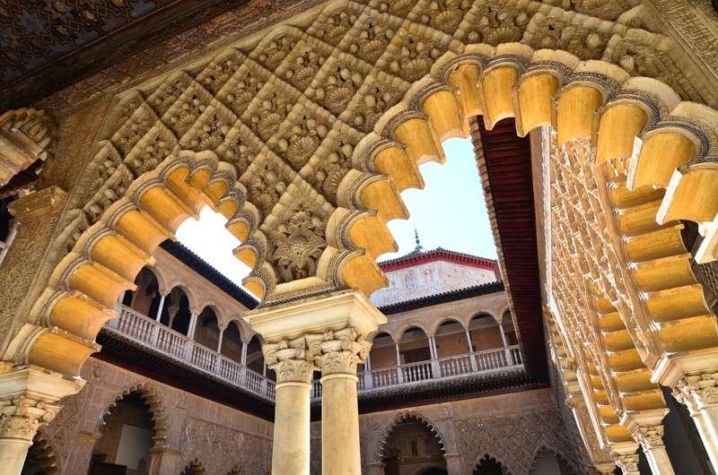 Alhambra Palace seen on summer teen travel program in Granada