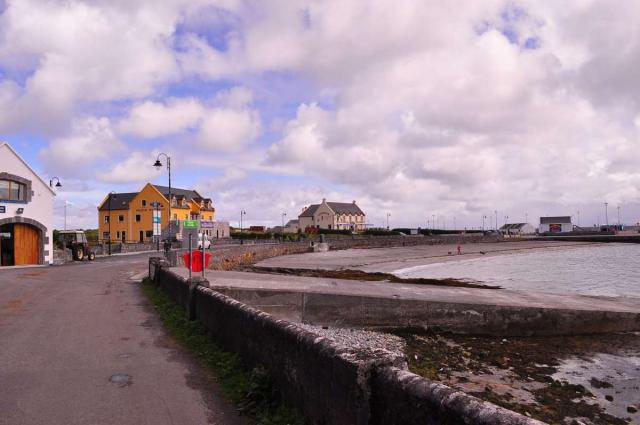 View of Galway seen on teen travel adventure program in Ireland