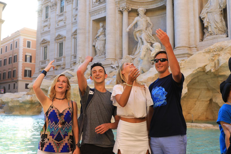 Teenage travelers on a Travel For Teens summer program