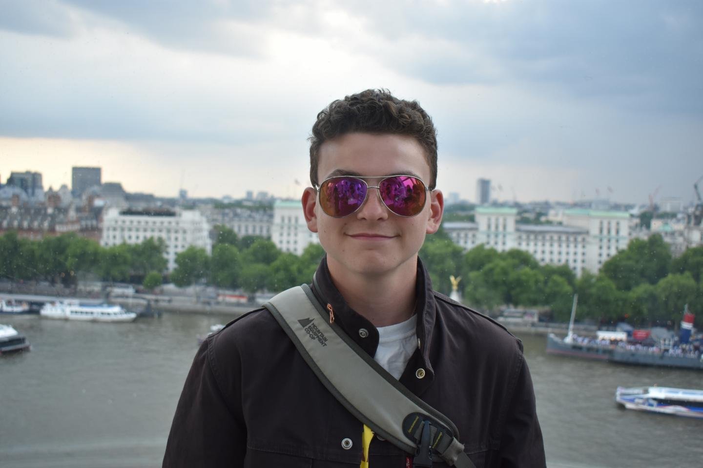 Teenage traveler in Paris on summer teen travel tour program