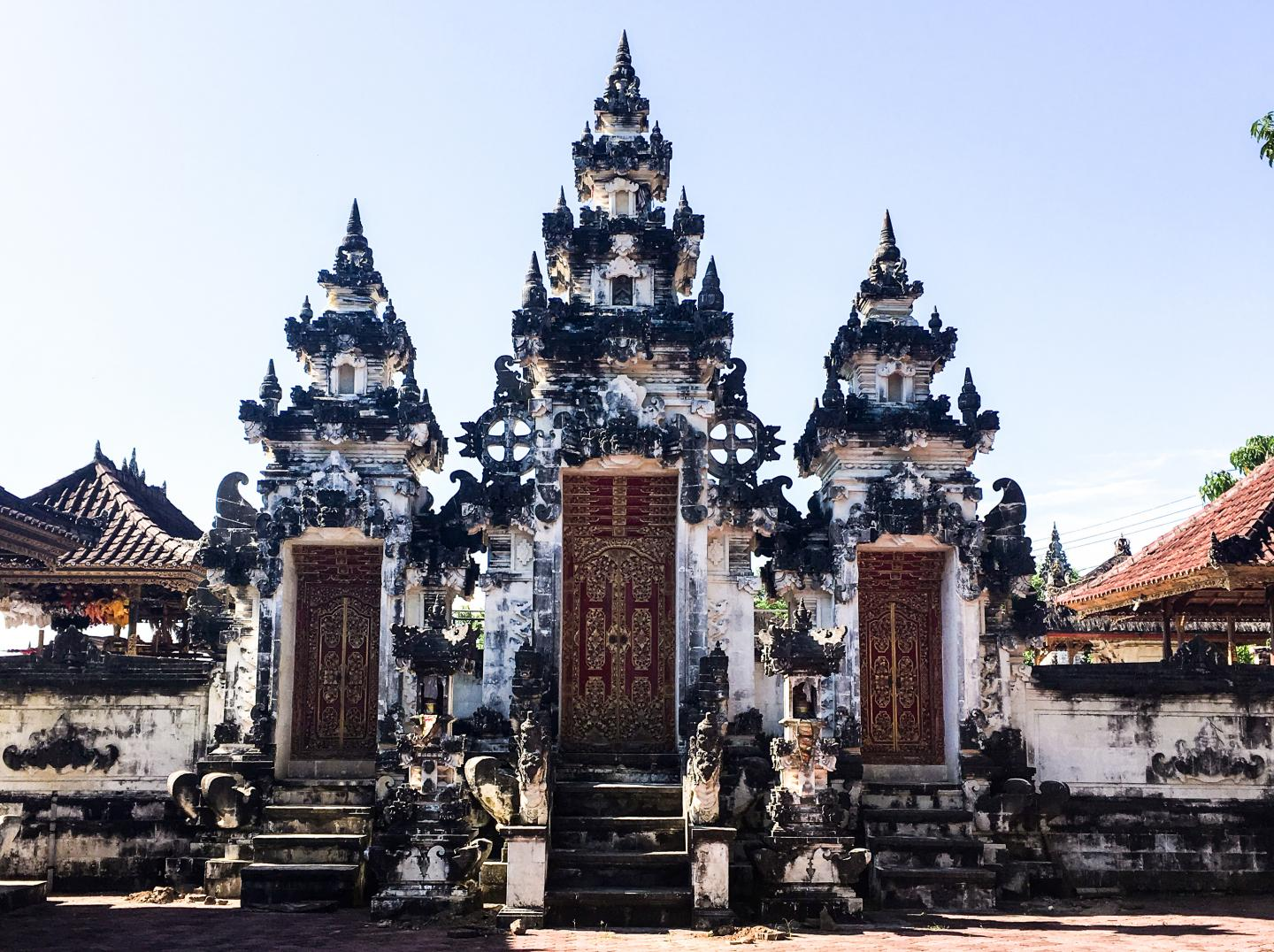 Traditional architecture in Bali, Indonesia