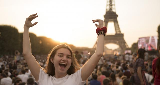 France Paris teen travel