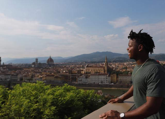 Boy in Florence