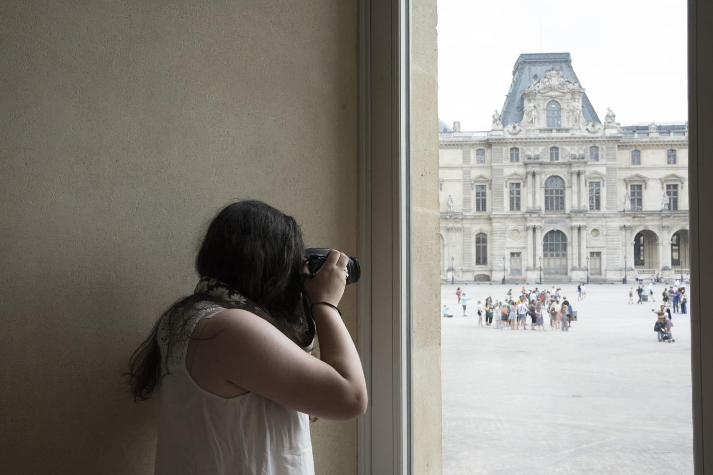 Student capture the beauty of Versailles on their teen tour to France