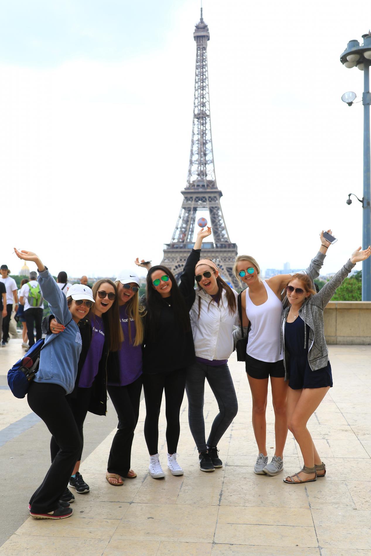 Teen tour Paris France Summer