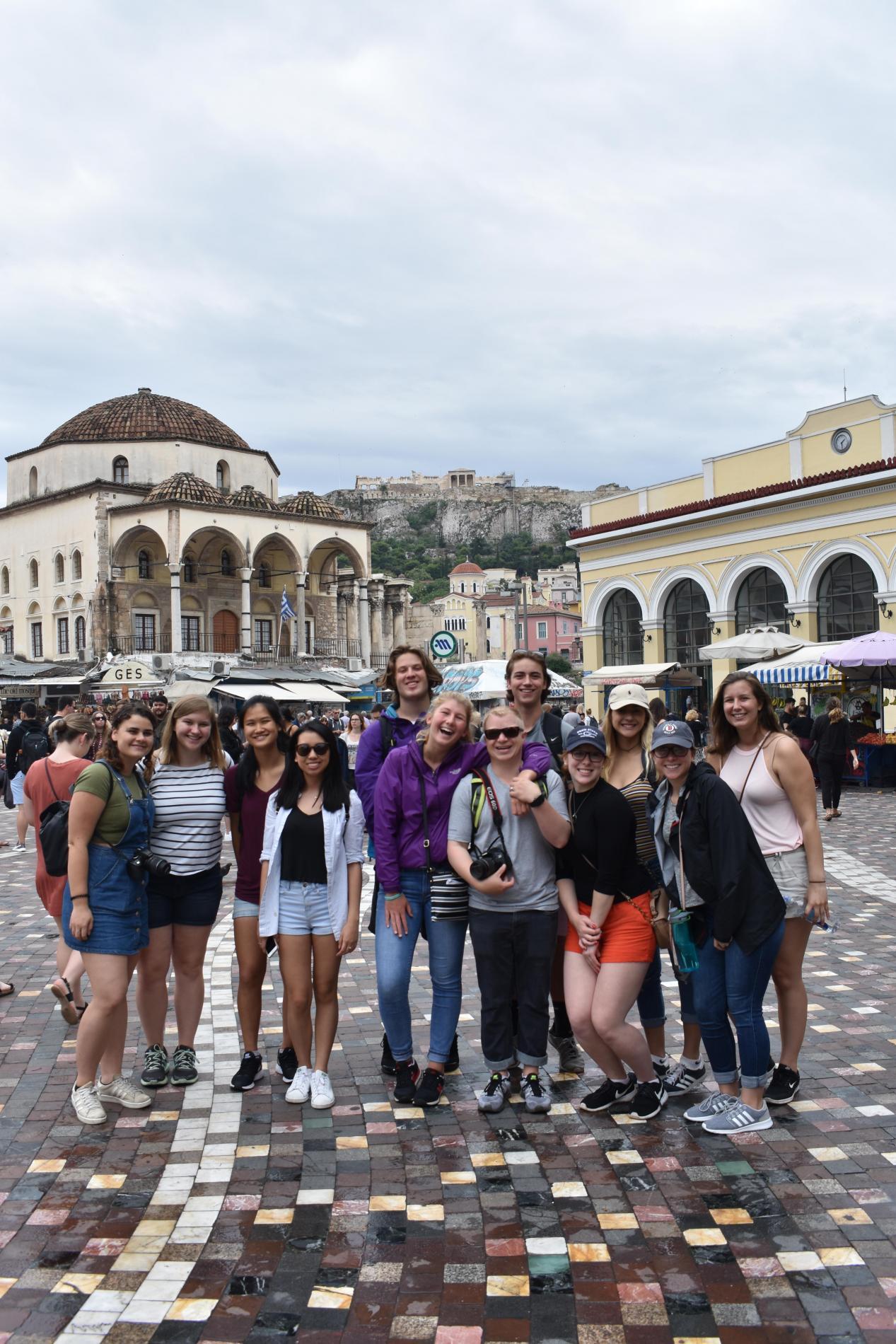 Summer teen tour Athens Greece Monastiraki