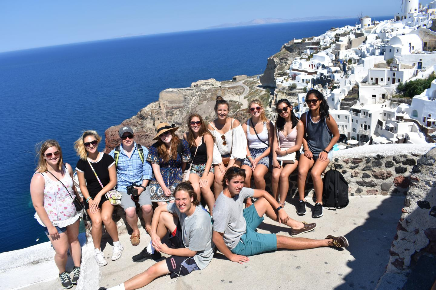Summer teen summer program traveling Greece