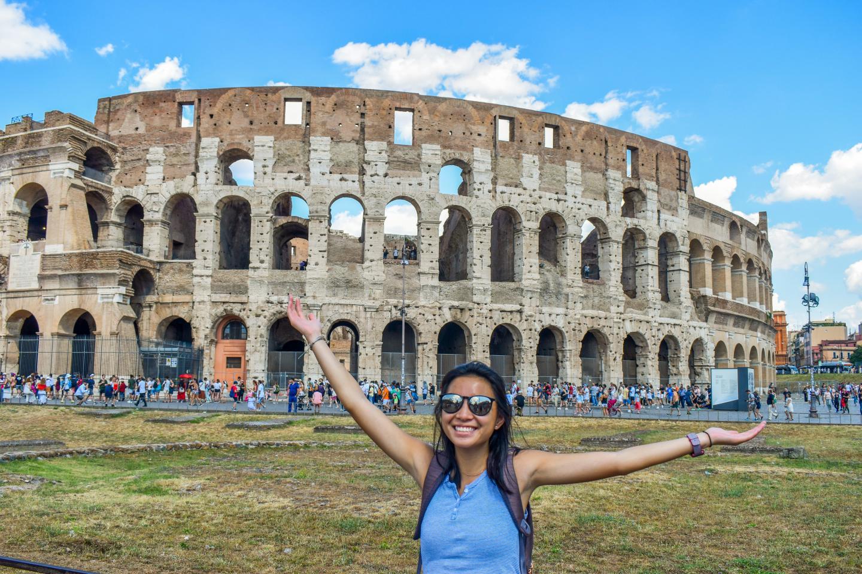 Colosseum Rome Italy Student Travel Program