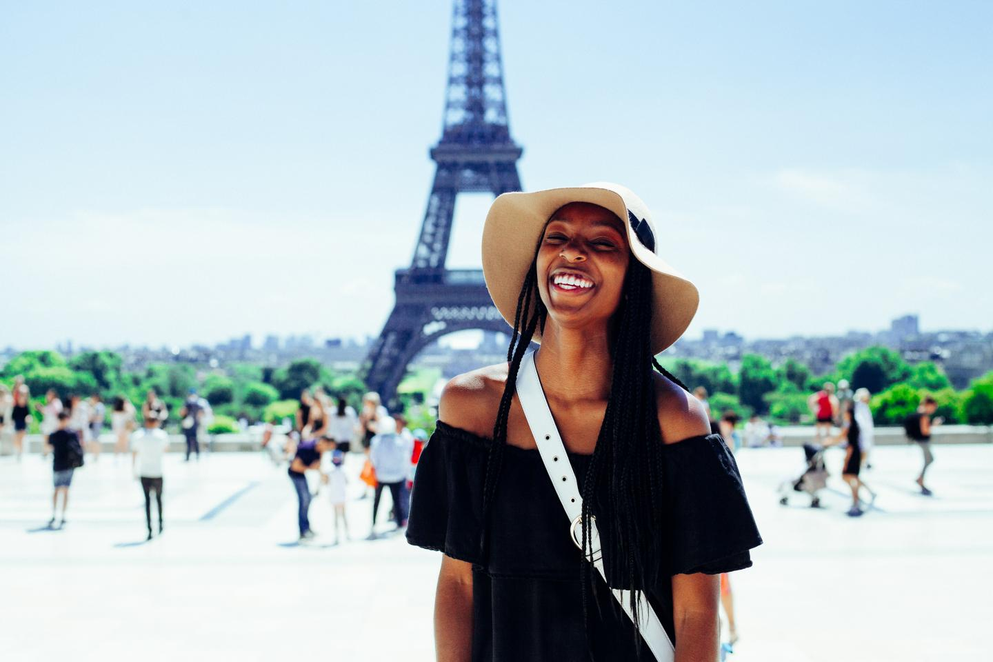 College Girl in Paris
