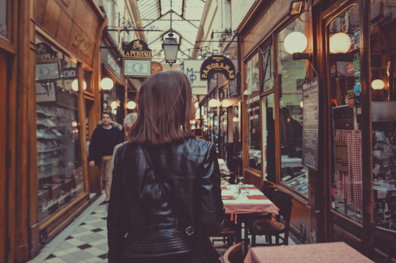 Shoping in Paris