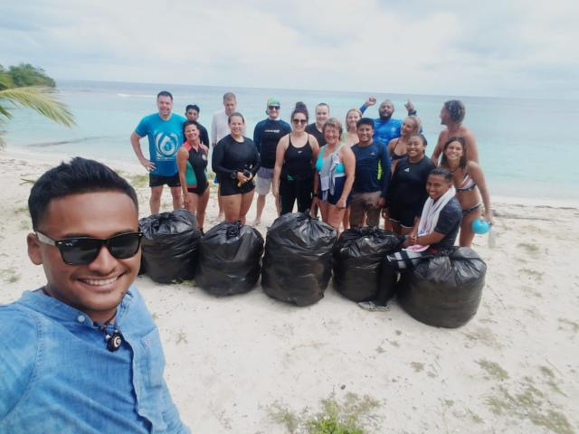 14 help in our weekly beach cleanups