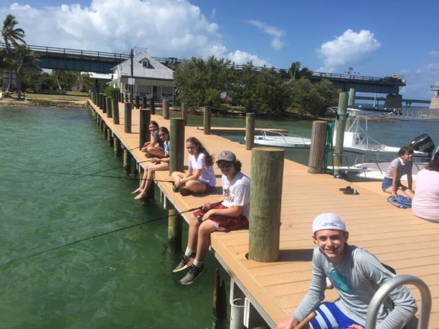 Relaxing afternoon at pigeon key