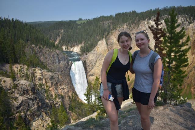 yellowstone waterfalls