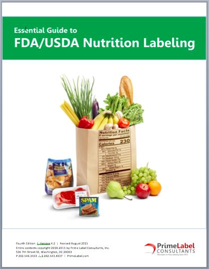 Essential Guide to FDA/USDA Nutrition Labeling