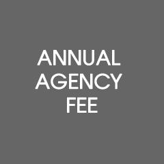 Annual agency fee (regular Members)
