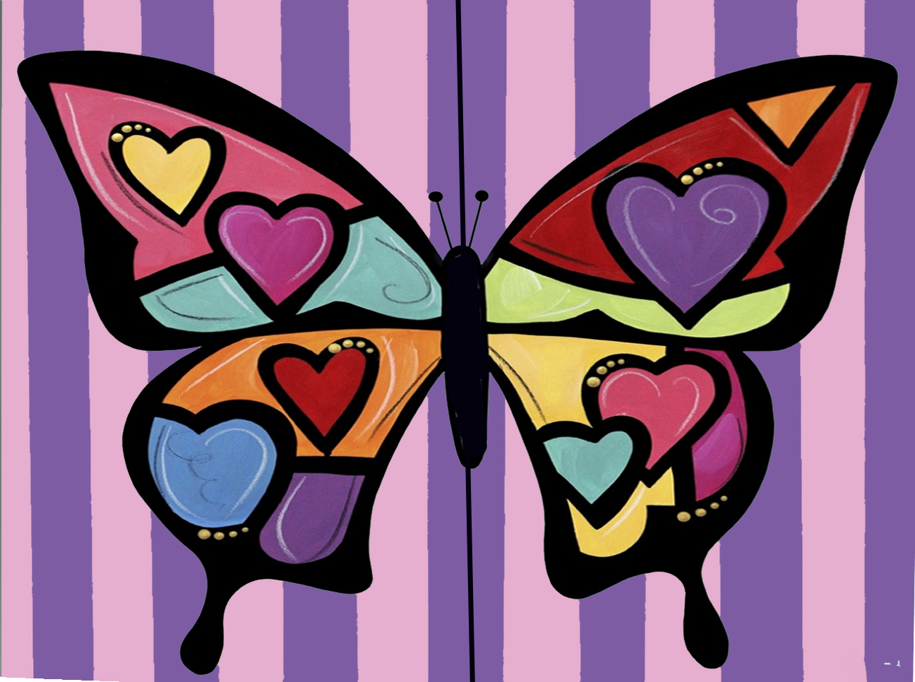 February 12th - Daddy/Daughter Paint Night! 6:30-8:30 pm