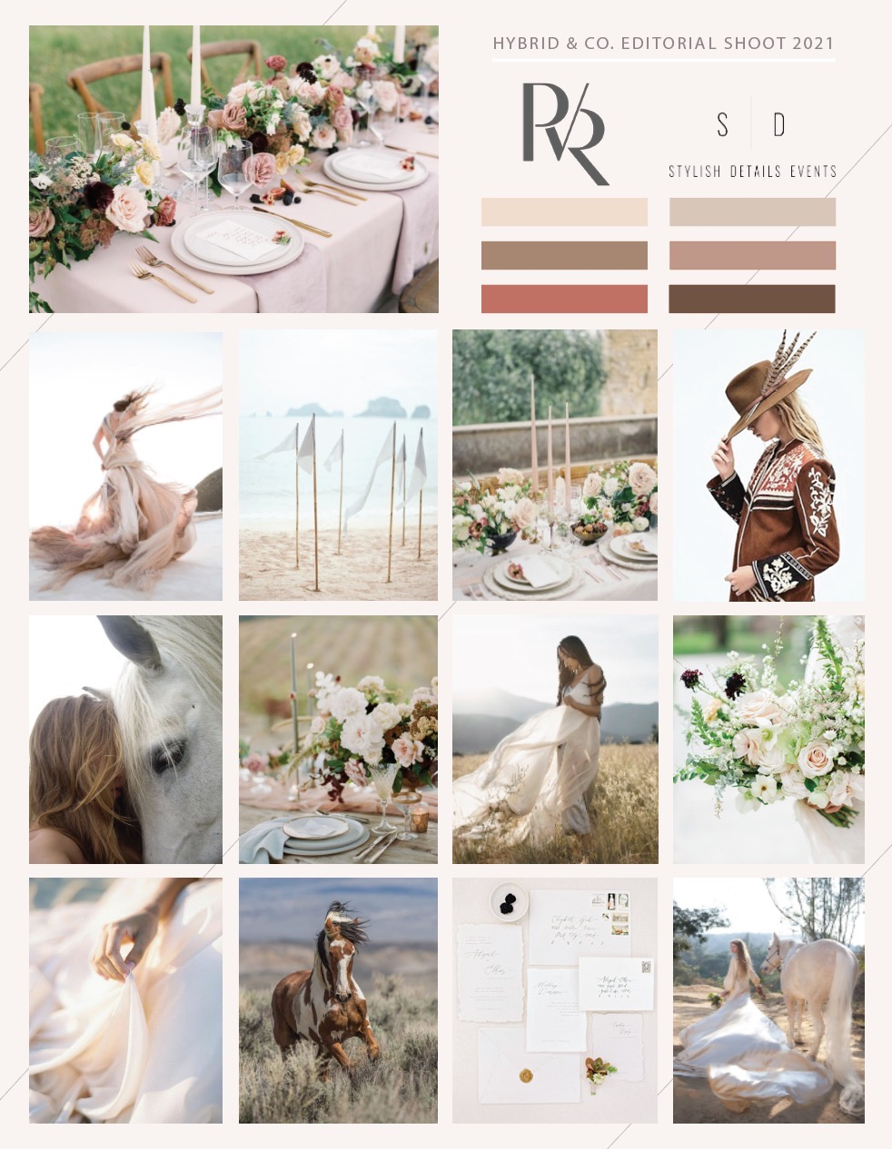 Paul Von Rieter Styled Shoot 4:30-7:30pm  Tuesday