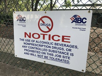 Drug Sign (Non-Member)