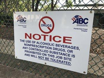 Drug Sign (ABC Member)
