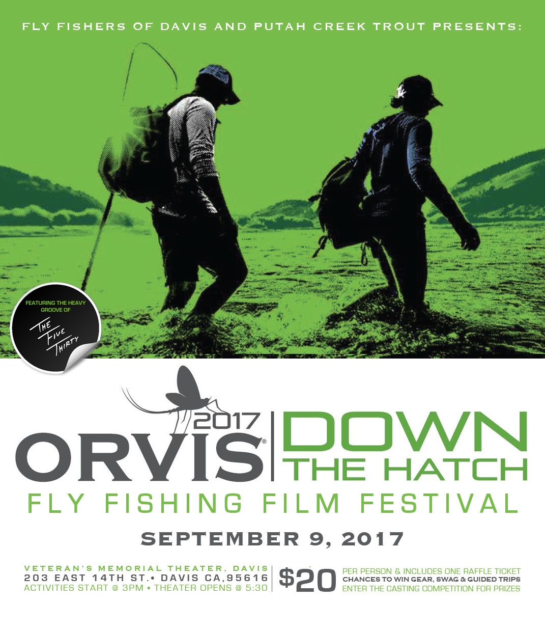 2017 Orvis Down The Hatch Film Festival In Davis