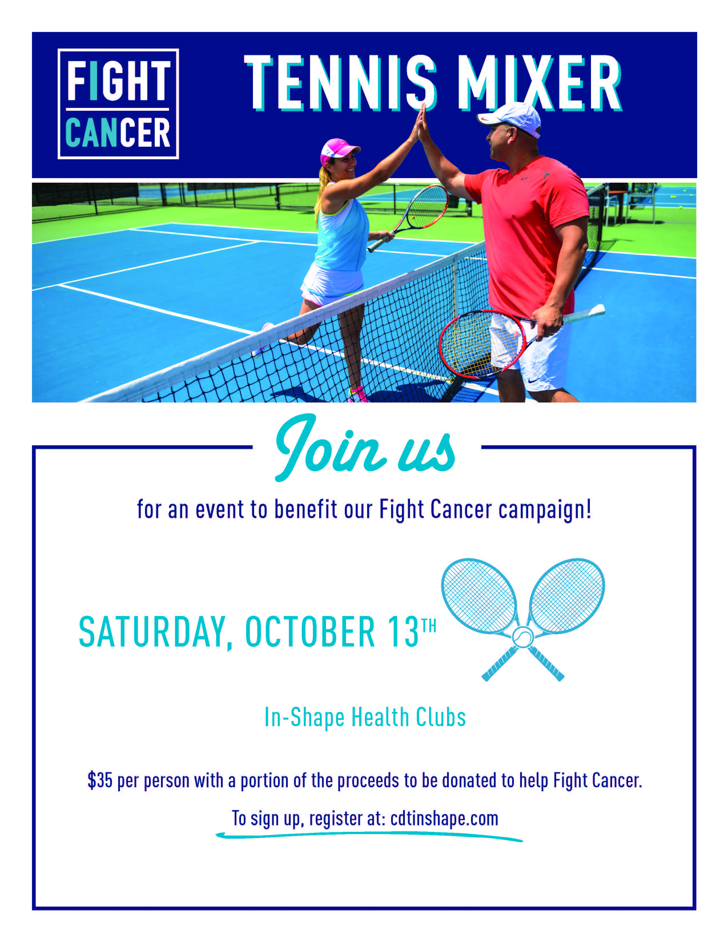 Fight Cancer Mixer