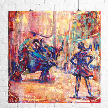 Fearless Girl - Limited Edition Print
