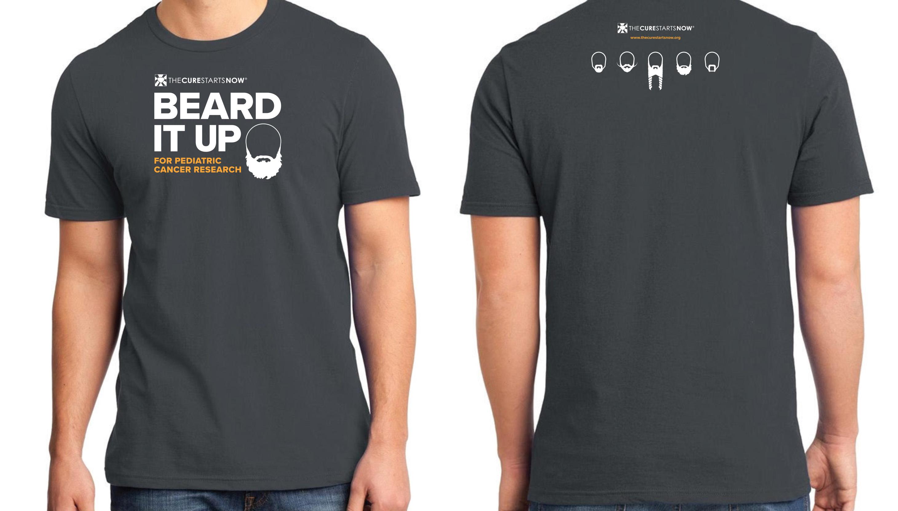 Beard It Up T-shirt Design 2018
