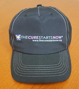 5 Panel Hat - Black w/ logo