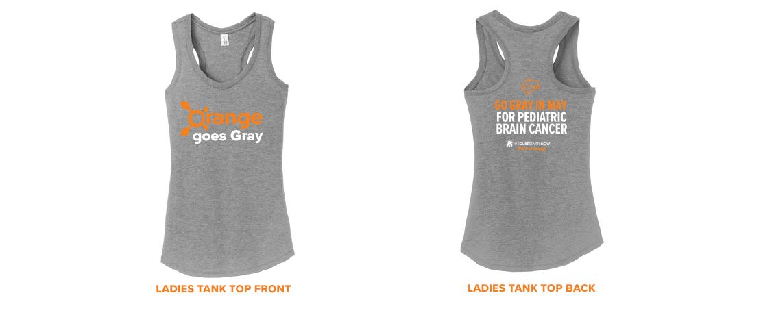 'Go Gray in May' Women's Tank Top
