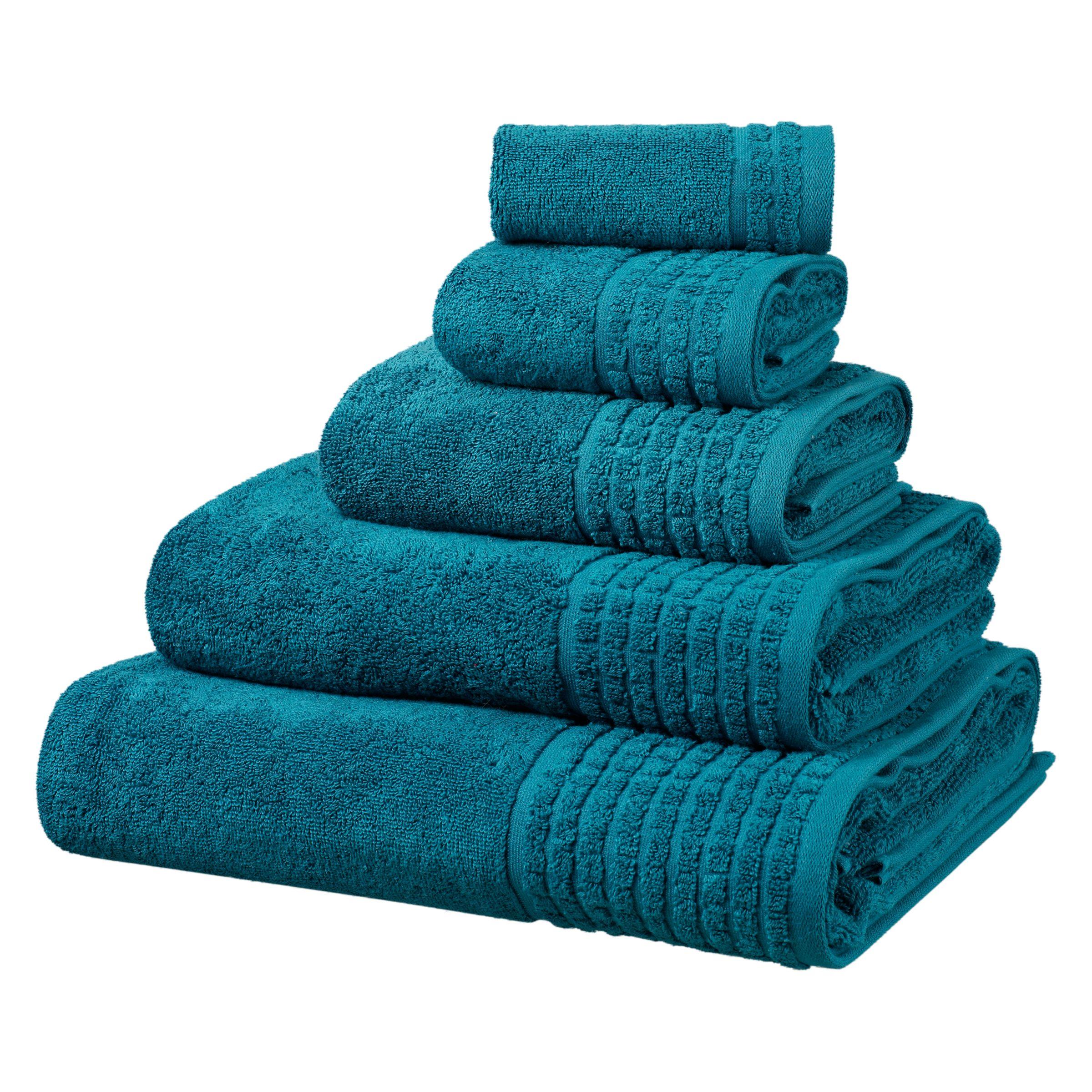 Bath Towel Sets (2 Bath, 2 Hand, 2 Wash)