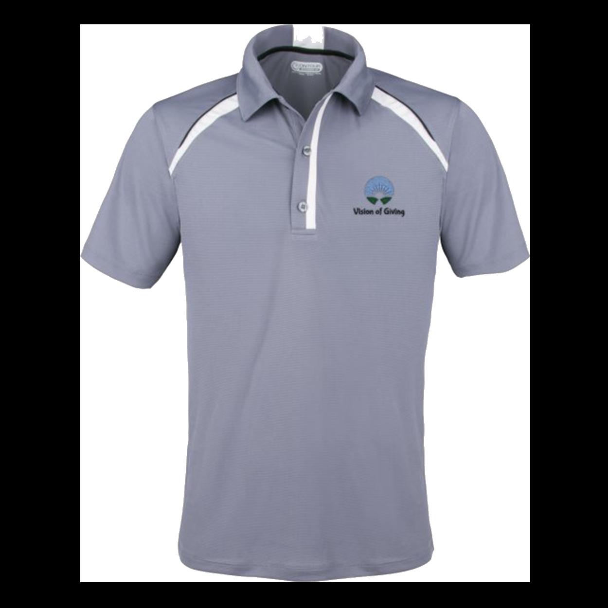 Elevate Quinn Polo Shirt - Grey