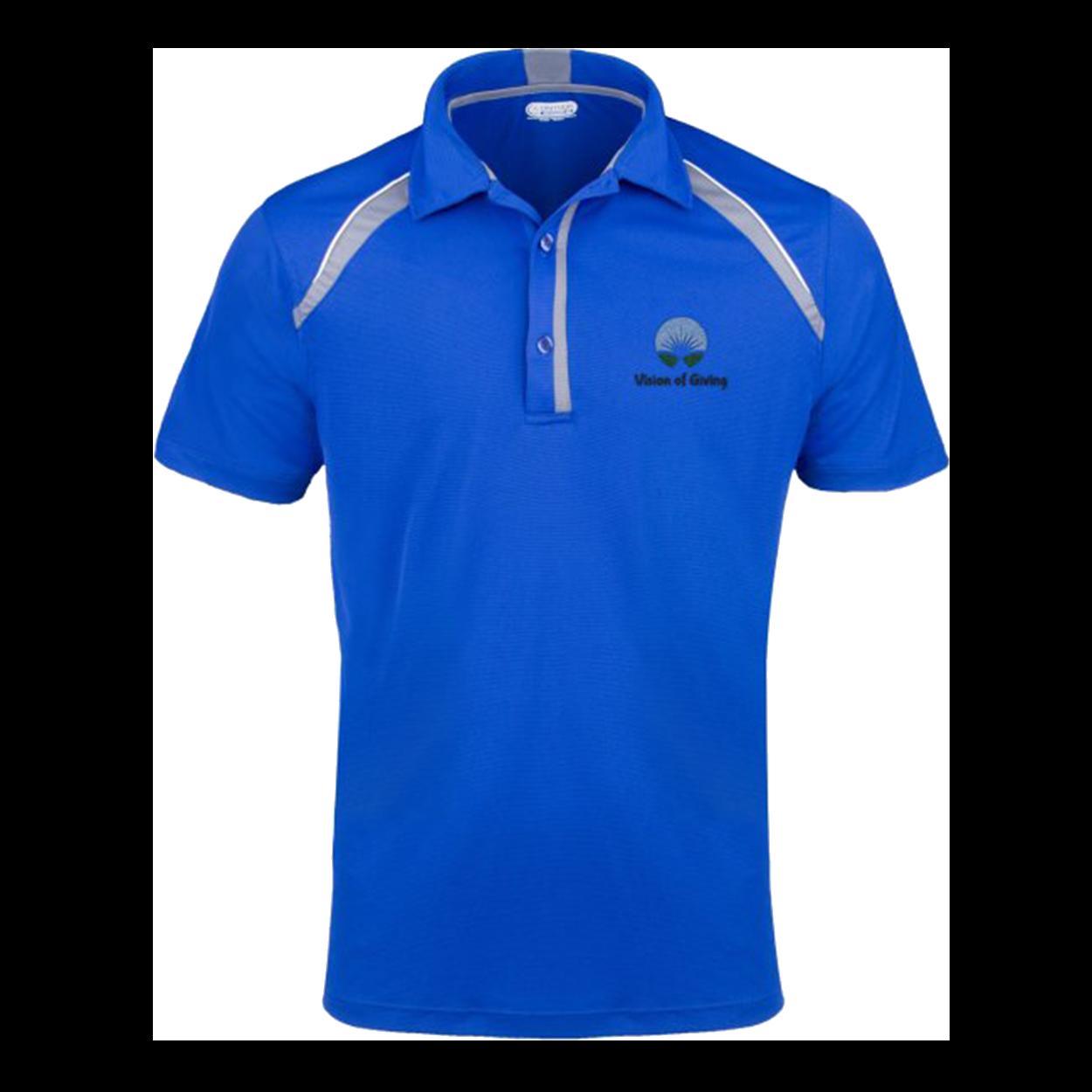Elevate Quinn Polo Shirt - Blue