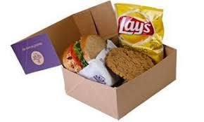 Friday Boxed Lunch