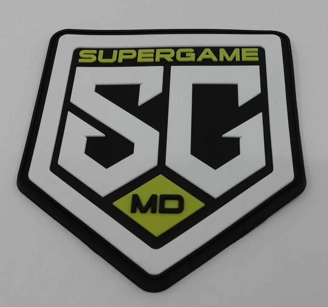 SG 3D Rubber Patch