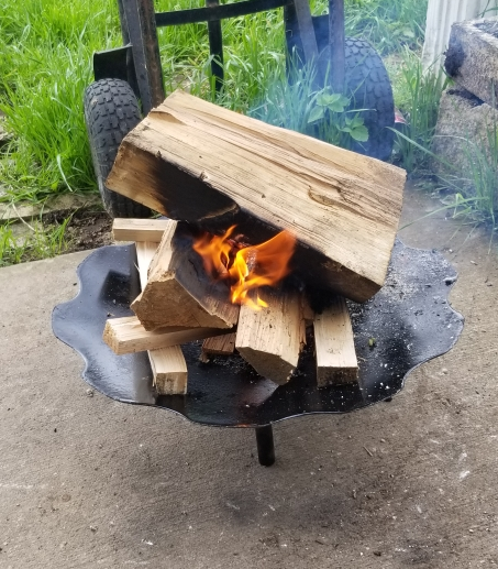 Fire Pit Rental (comes with 1 wood bundle)