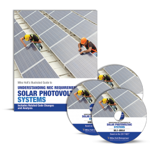 2017 Solar PV NEC Mike Holt Manual