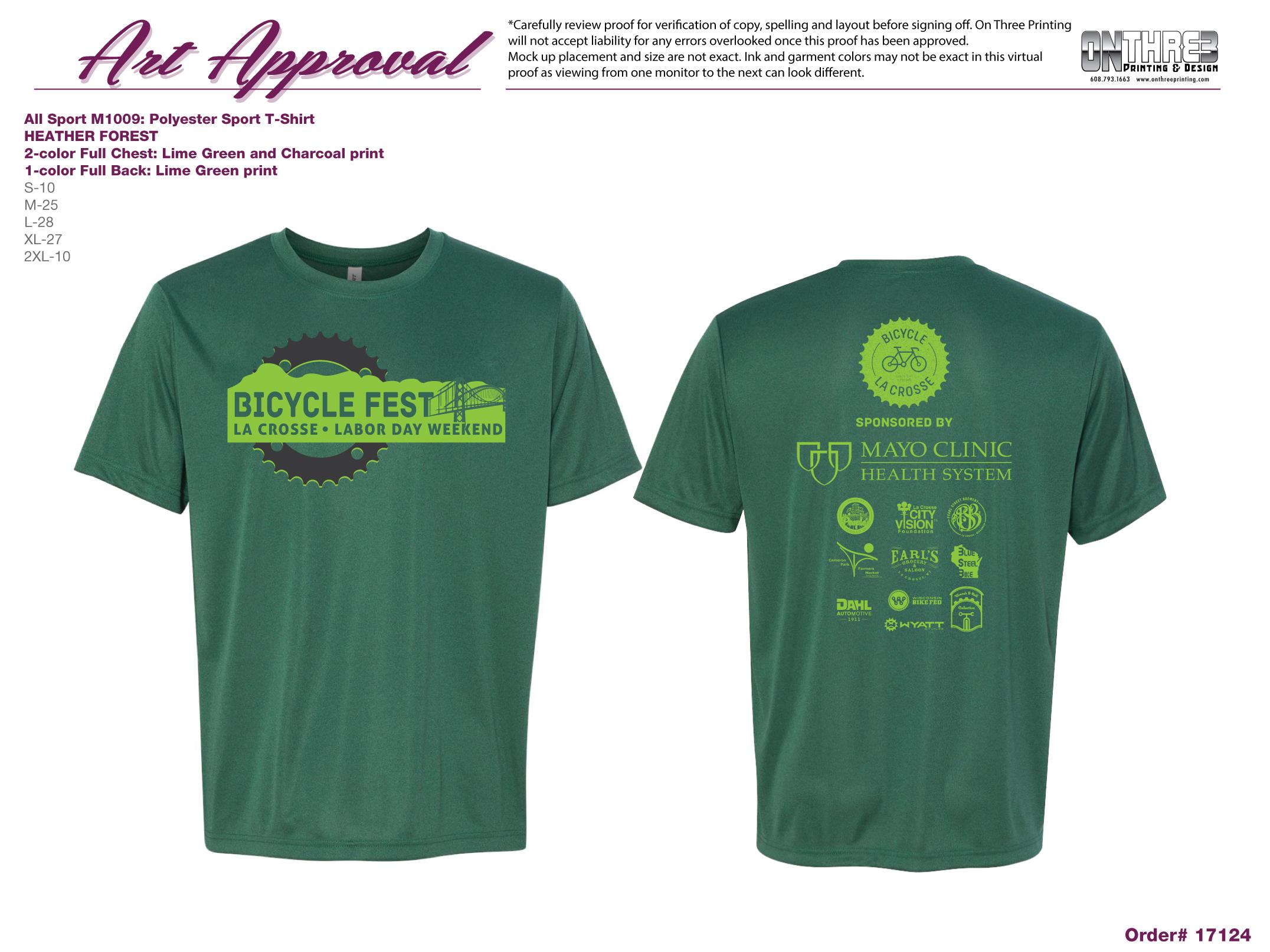 Bike Fest Dri-Fit T-Shirt