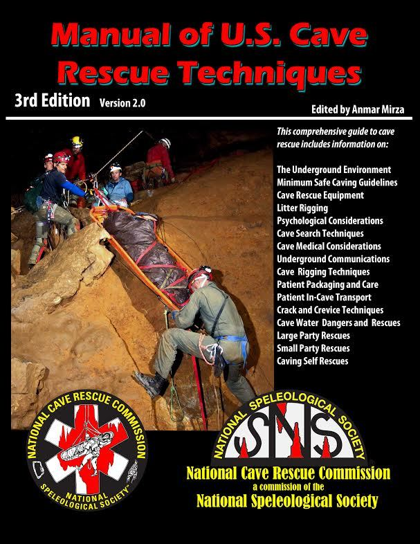 Manual of US Cave Rescue Techniques 3rd Edition
