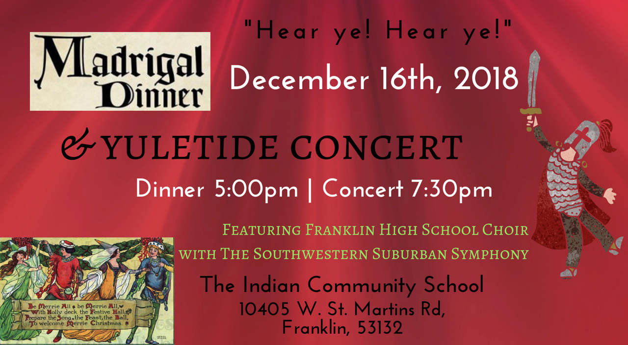 Madrigal Dinner & Yuletide Concert
