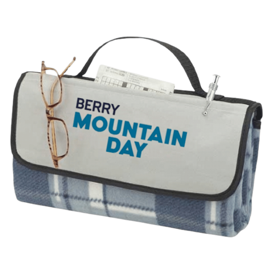 Mountain Day Picnic Blanket