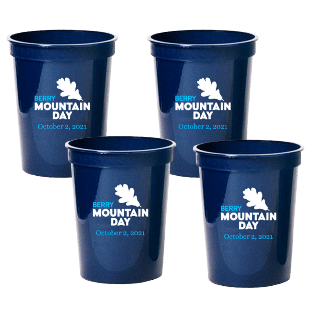 Mountain Day Cups (set of 4)