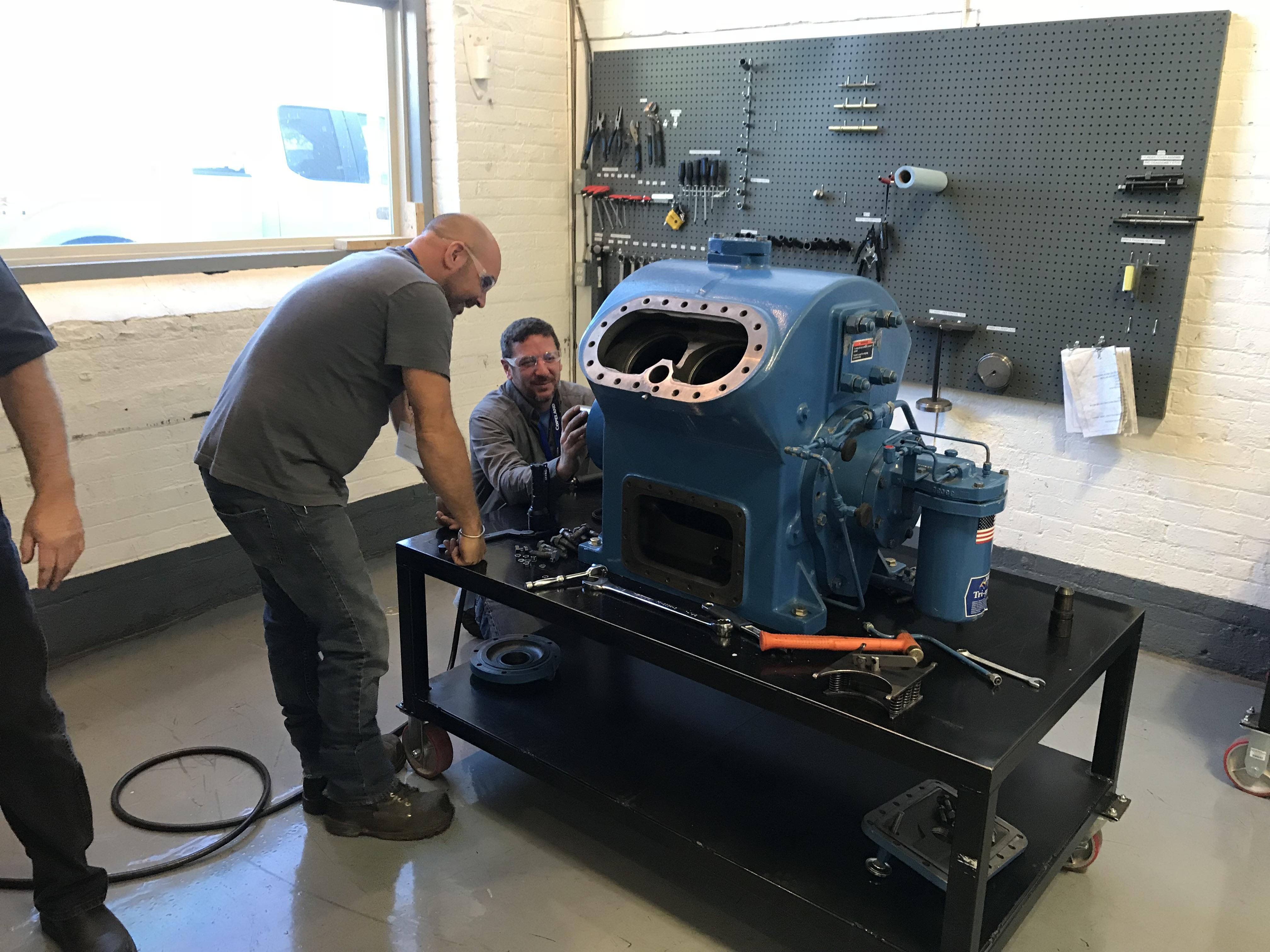 Vilter Reciprocating Compressor Training